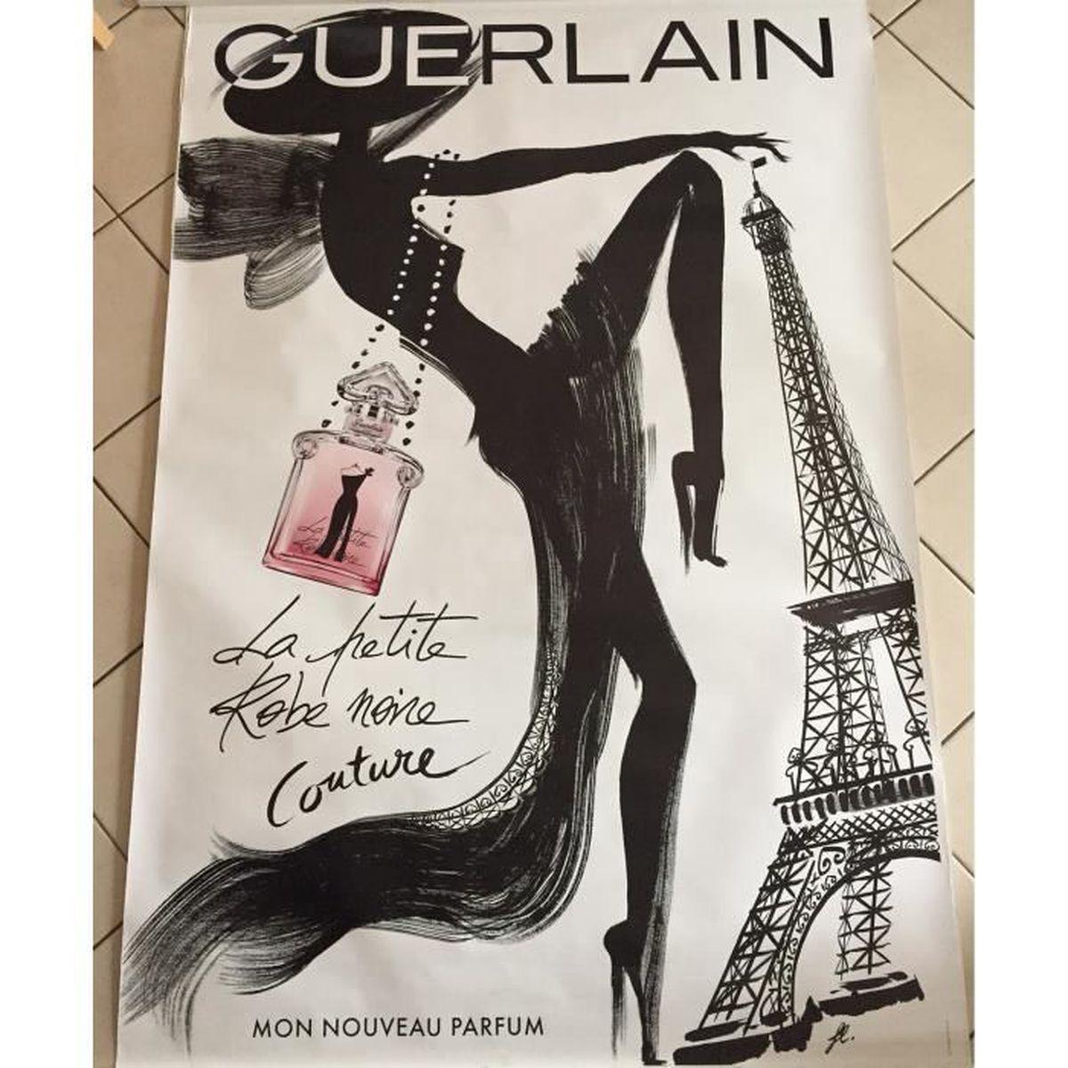 Robe La Affiche Lpumjszvqg Noire Guerlain Parfum Petite Cm 120x175 qSzMVUp