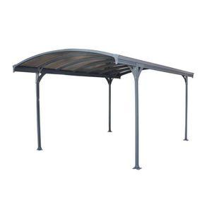 carport aluminium achat vente carport aluminium pas cher cdiscount. Black Bedroom Furniture Sets. Home Design Ideas