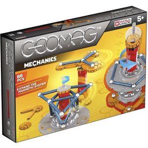 GEOMAG MECHANICS Jeu de Construction Magnétique 86 pcs