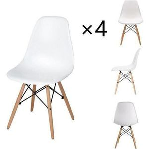 CHAISE Dora Household Chaise de salle à manger X4 Scandin