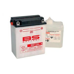 BATTERIE VÉHICULE Batterie BS BATTERY BB12AL-A conventionnelle livré
