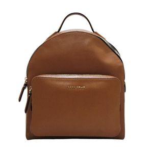 saffiano à Dos sac en Color cuir C Clémentine Coccinelle Sac ligne Cuoio Colore véritable en vwBxx