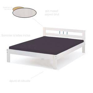 lits 2 places achat vente pas cher. Black Bedroom Furniture Sets. Home Design Ideas