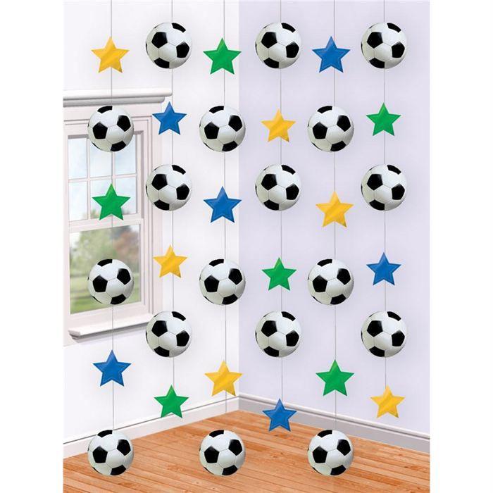 BANDEROLE , BANNIÈRE Chaînes de décoration Football
