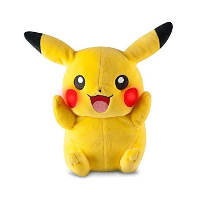 pikachu peluche achat vente jeux et jouets pas chers. Black Bedroom Furniture Sets. Home Design Ideas