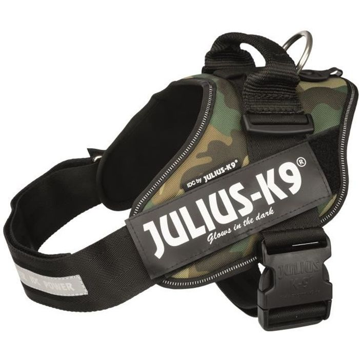 HARNAIS ANIMAL JULIUS K9 Harnais Power IDC 1–L : 63–85 cm - 50 mm