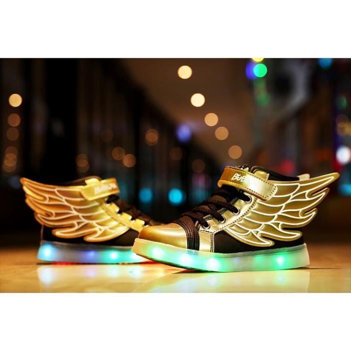 Chaussures Filles Bébé Led Charging Garçons Usb wWqHHAgp