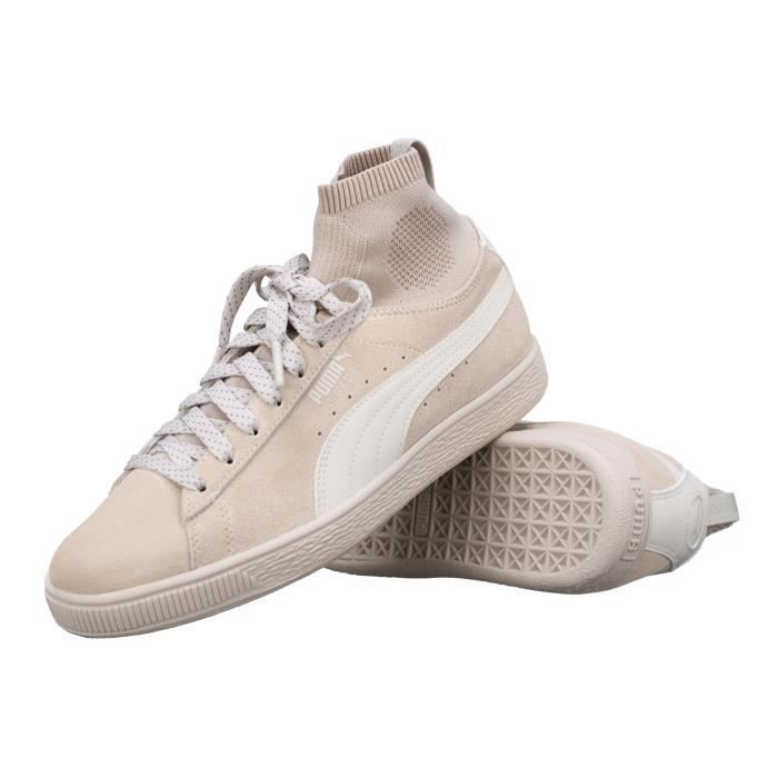 Basket Puma Suede Classic Sock 364074 - 02 Beige