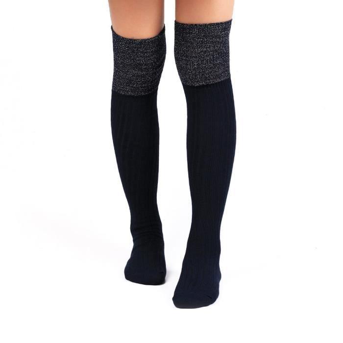 sans précédent pas cher plus tard Femmes Chaussettes Longues au-dessus du genou Haute Chaussettes NY-FT161