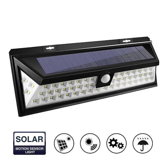 Lavent 54led Lampe Solaire Pour Allee De Jardin Etanche 3 7v 2200mah
