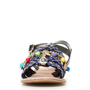 GioseppoMojaves sandales en cuir noir QEnOT3