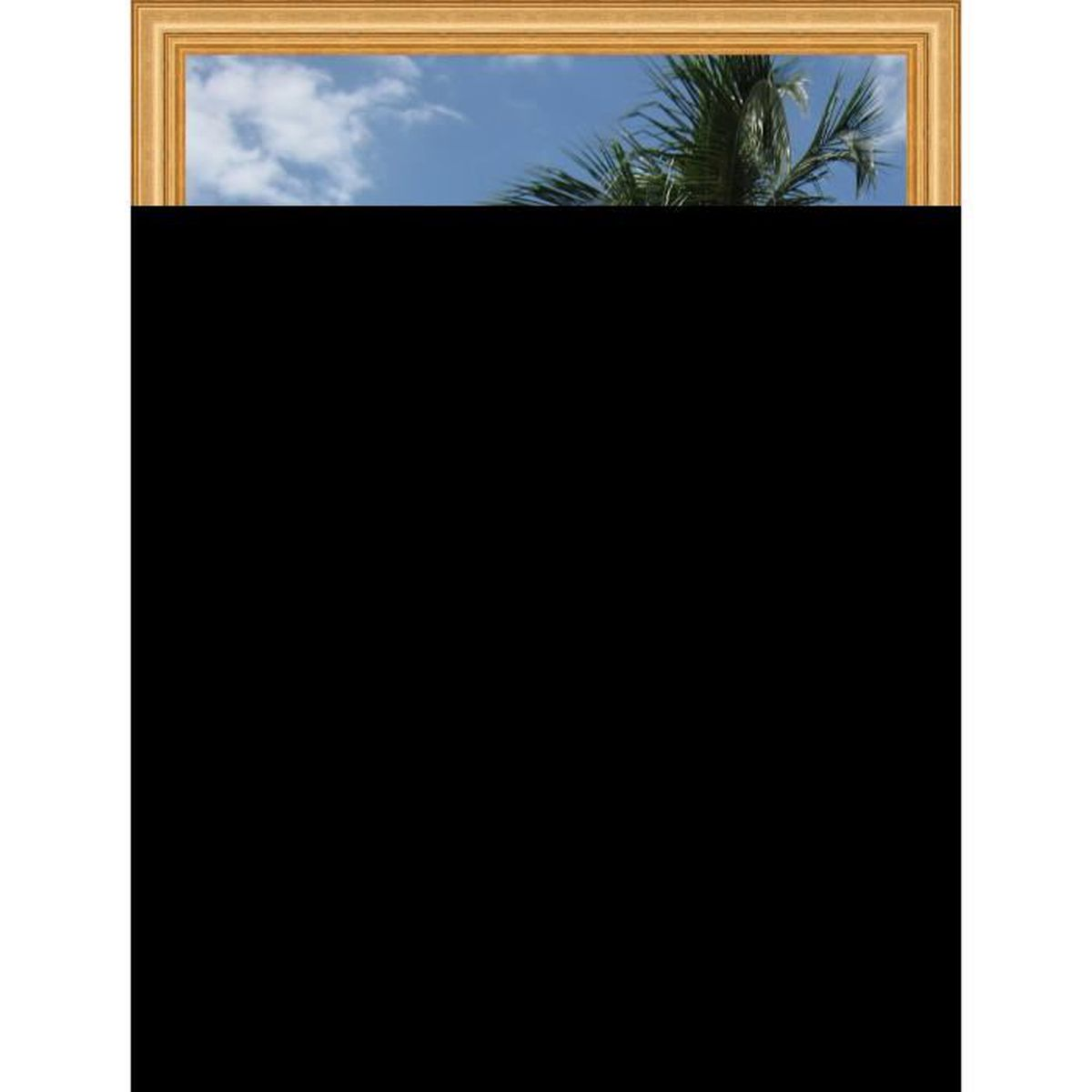 simple banc cadre photo mural x x cadre or clas with cadre photo 50x75. Black Bedroom Furniture Sets. Home Design Ideas