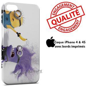 COQUE - BUMPER Coque iPhone 4 & 4S Minion 17
