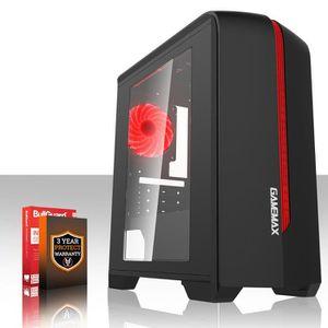 ORDINATEUR TOUT-EN-UN Fierce EXILE PC Gamer de Bureau - AMD FX-4300 4x4G