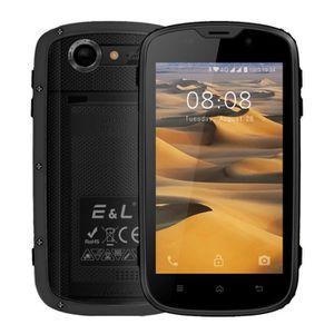 Téléphone portable EL W5S 3G Smartphone Robuste, IP68 étanche, 4.0''