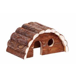 ACCESSOIRE ABRI ANIMAL BUBIMEX Maison en bois pont - Pour rongeurs