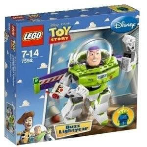 ASSEMBLAGE CONSTRUCTION Lego - 7592 - Toy Story - Figurine Buzz l'Eclair