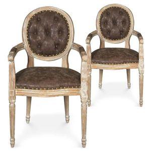 Chaise louis xvi achat vente pas cher - Chaise medaillon louis xvi ...