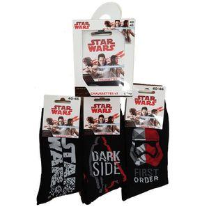 CHAUSSETTES Chaussettes homme Star Wars 40/46 Pack de 3 en boi