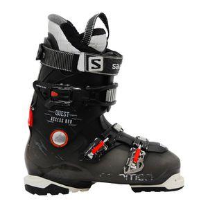 CHAUSSURES DE SKI Chaussures de ski Salomon Quest access r80 noir or