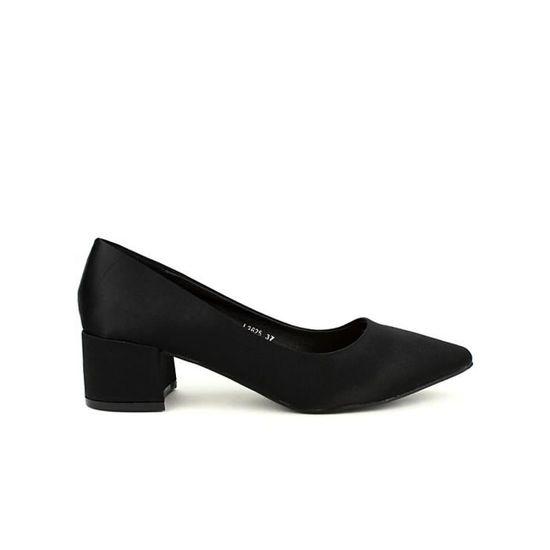 Escarpin, Escarpins Noir Chaussures Femme, Cendriyon / Noir Noir - Achat / Cendriyon Vente escarpin d9cb06