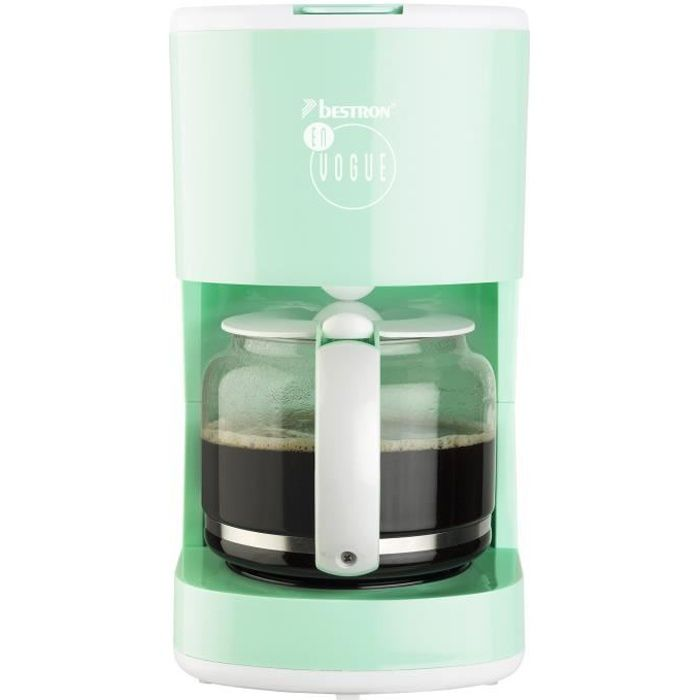 BESTRON ACM300EVM Cafetière filtre – Vert