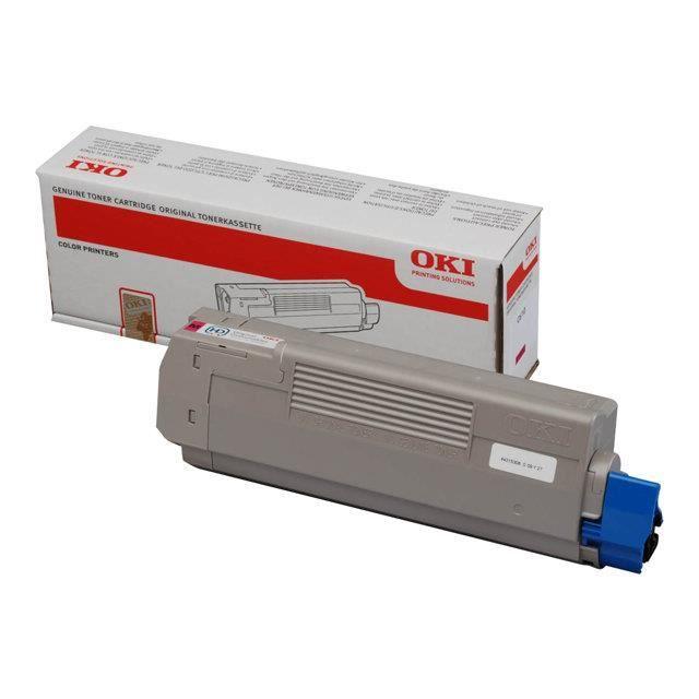 OKI Cartouche toner 44315306  -  Compatible  C610  -  Magenta  -  Capacité standard 6.000 pages