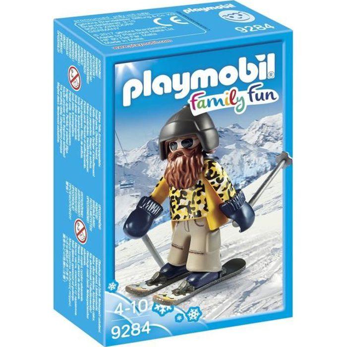 Nouveauté 2018 - PLAYMOBIL 9284 Skieur barbu