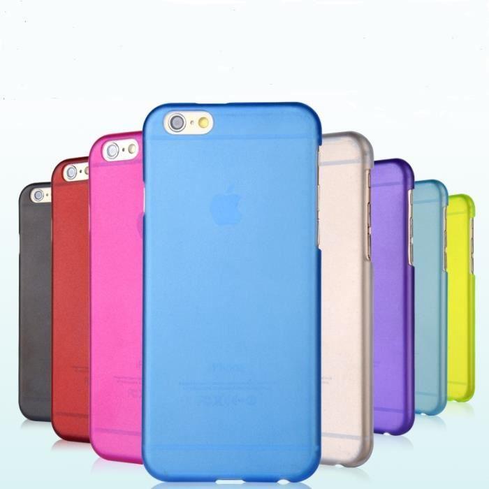 coque iphone 6 en plastique