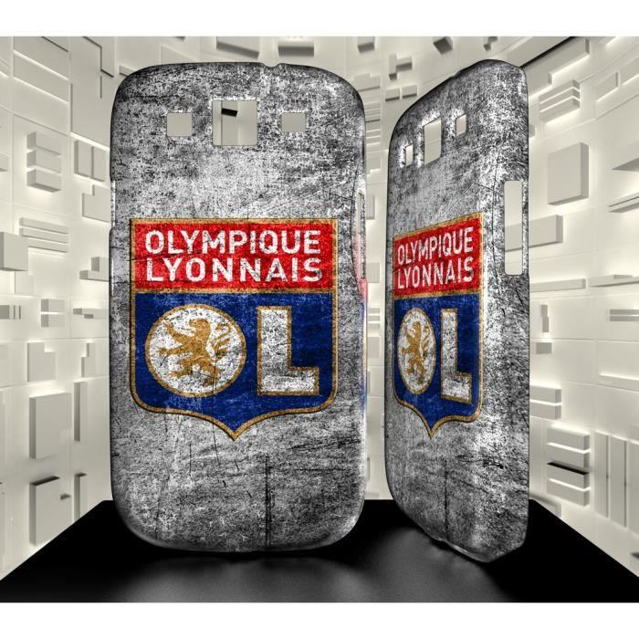 coque samsung galaxy s3 logo football club ol lyon olympique lyonnais 01 achat coque bumper. Black Bedroom Furniture Sets. Home Design Ideas