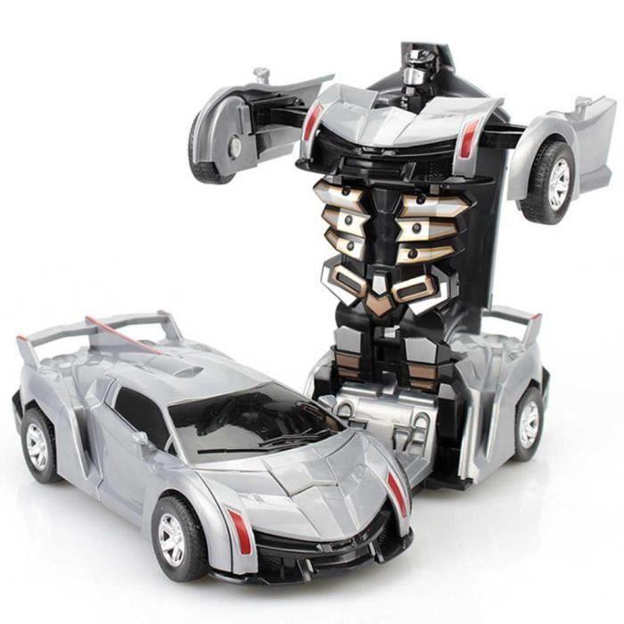 Jouet Lamborghini Pour Robot Argent Mogoi Voiture Enfants OiPkXuZT