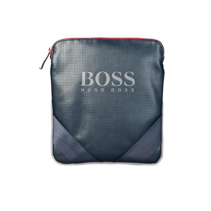 HUGO BOSS GREEN sac de masio bleu marine 50285544 - Achat   Vente ... d2c4a2fe9c8e