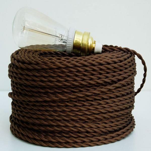 Fil Electrique Tissu - Achat / Vente Fil Electrique Tissu Pas Cher