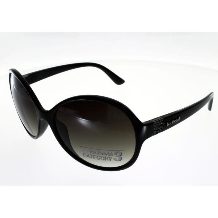 861885eb33d495 LOUBSOL BAHIA NOIR Femme Indice 3 - Achat   Vente lunettes de soleil ...