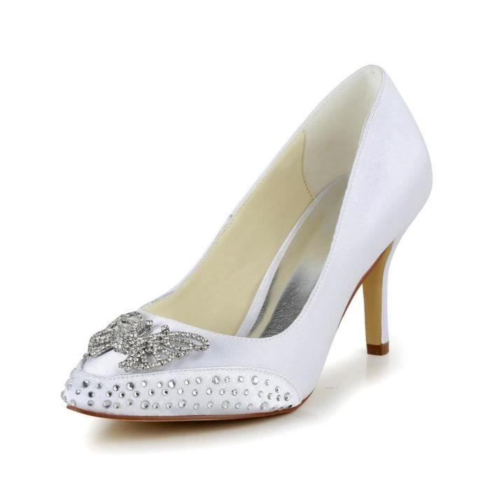 Jia Jia Wedding 5949414A chaussures de mariée mariage Escarpins pour femme jlTS6