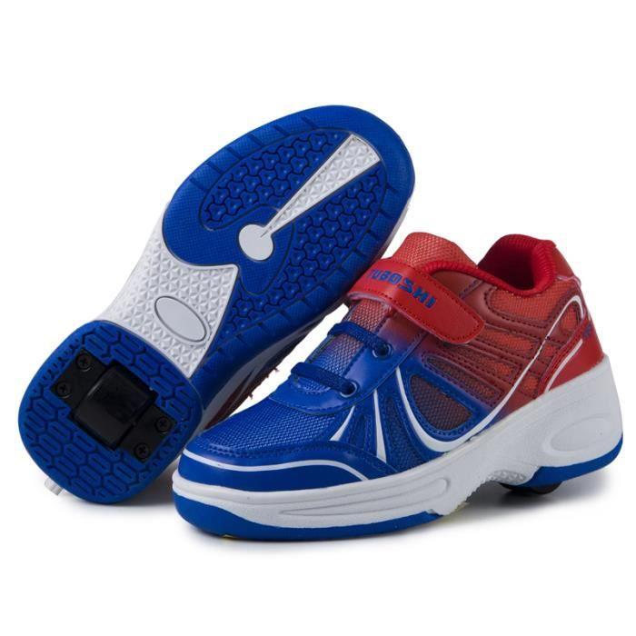 2016 nouvelles Chaussures Heelys roues Heelys en caoutchouc à l'Abrasion enfants baskets Chaussures enfants Roller
