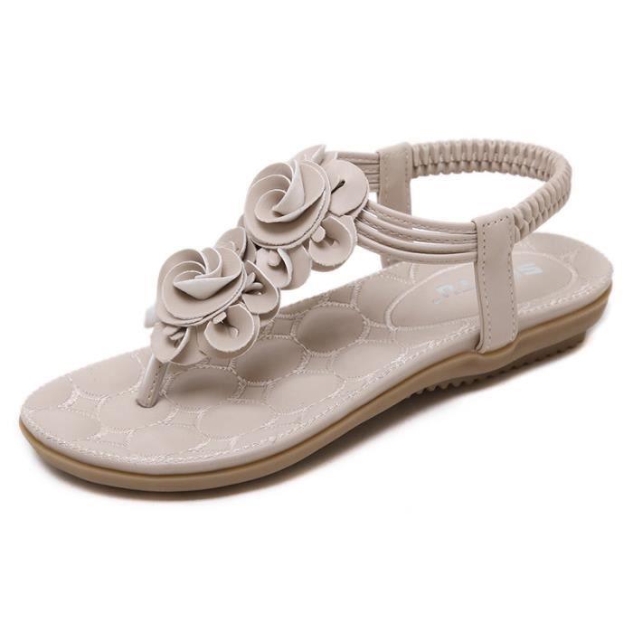 Sandales plates FEMME ohklzG3kT