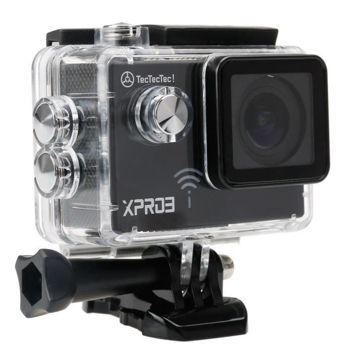 CAMÉRA SPORT TECTECTEC Caméra Sport Ultra HD 4K XPRO3 - Etanche