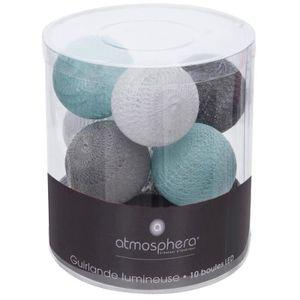 guirlande lumineuse boule achat vente guirlande lumineuse boule pas cher soldes d s le 10. Black Bedroom Furniture Sets. Home Design Ideas