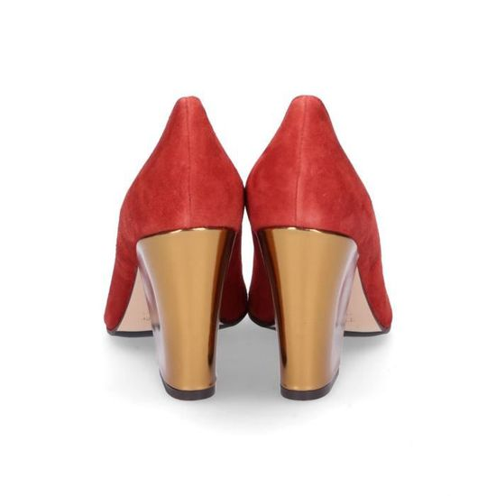 3e3d8c5e59370f The Escarpins S5778bred SuÈde Femme Rouge Seller r6RSrqv
