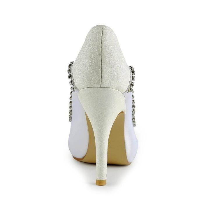 Jia Jia Wedding 3705 chaussures de mariée mariage Escarpins pour femme