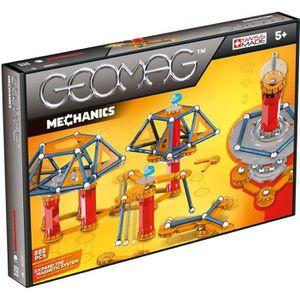 GEOMAG MECHANICS Jeu de Construction Magnétique 222 pcs