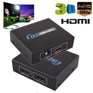 AMPLI HOME CINÉMA 2 Sortie 1 Entrée HDMI Splitter Amplificateur 2 vo