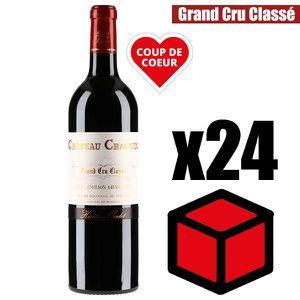 VIN ROUGE X18 Château Chauvin 2016 75 cl AOC Saint-Emilion V