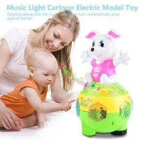 JOUET Musique lumière Cartoon modèle électrique jouet jo
