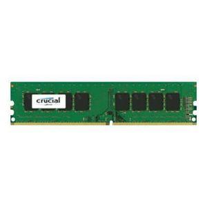 MÉMOIRE RAM CRUCIAL - Mémoire PC - UDIMM 8Go DDR4-2400