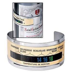 THERMOMÈTRE VIN Thermomètre anneau de bouteille