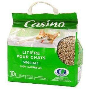 litiere chat vegetale