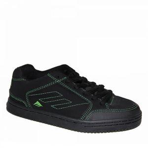 samples shoes EMERICA RIDGEMONT WHITE BLACK PRINT MEN NUhLd2O