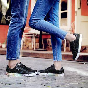 BASKET Homme/Femme Chaussure Sport Coloré Encre Patchwork